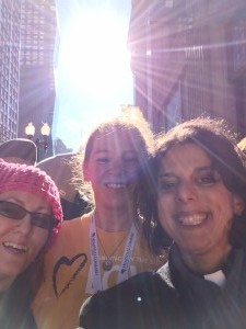 Women's March, Chicago, January 2017 Monica Dobbins, Kali Fyre, Katie Romano Griffin
